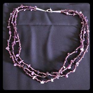 Very beautiful bead/stone necklace